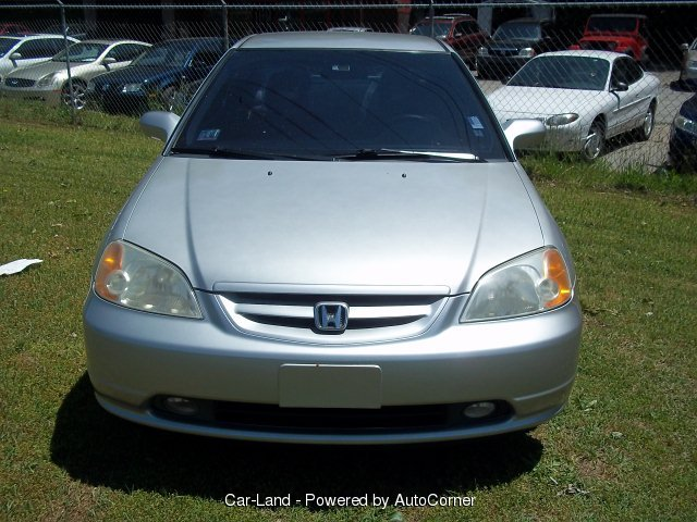 2003 Honda Civic 2-Door Coupe DX Manual Trans